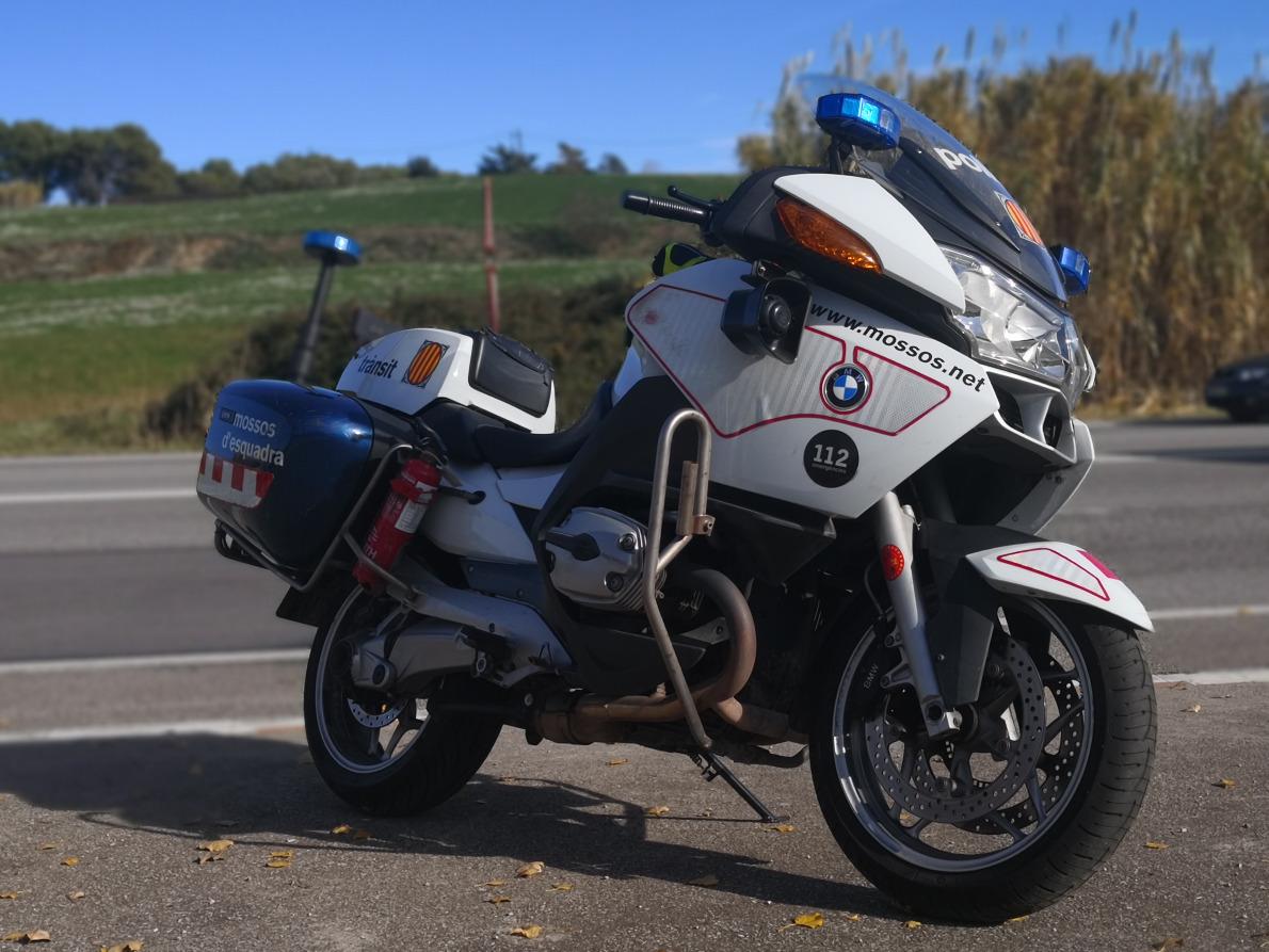 Moto Mossos d'Esquadra